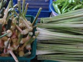 Galangal and lemongrass
