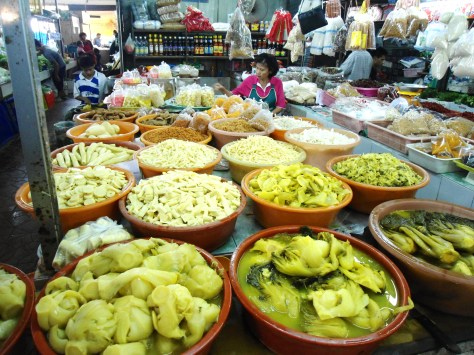 Selectin of pickles